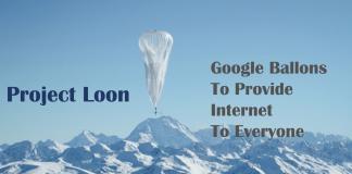 google Alphabet Loon